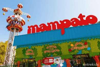 Entrada a Mampato Lo Barnechea - Parque de Diversiones - Panoramas con niños